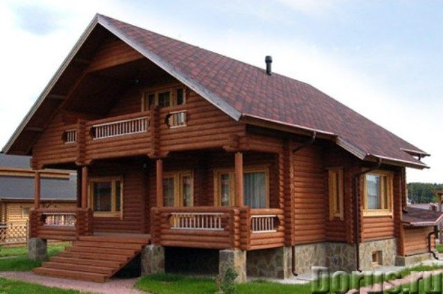 Дома рубленные вручную - Строительные услуги - Загородный дом – коттедж – это не только престиж, но..., фото 1